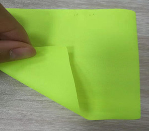 TPU复合布-210D荧光黄复合布